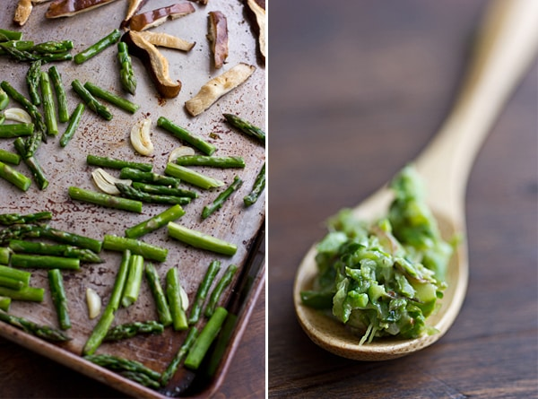 Roasted Asparagus Pesto