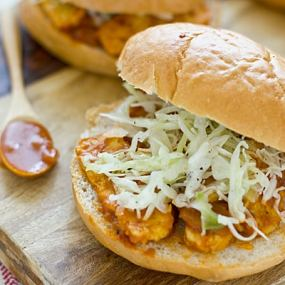 BBQ Tempeh Sandwiches Recipe