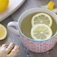 Natural Calm Lemon Ginger Tea Recipe