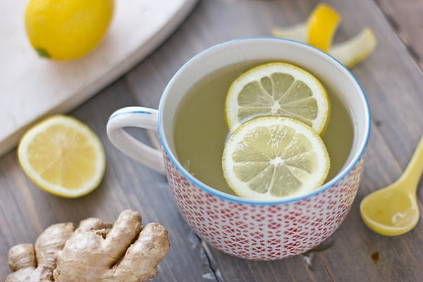 Natural Calm Lemon Ginger Tea Recipe