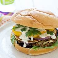 Red Lentil Cauliflower Burger