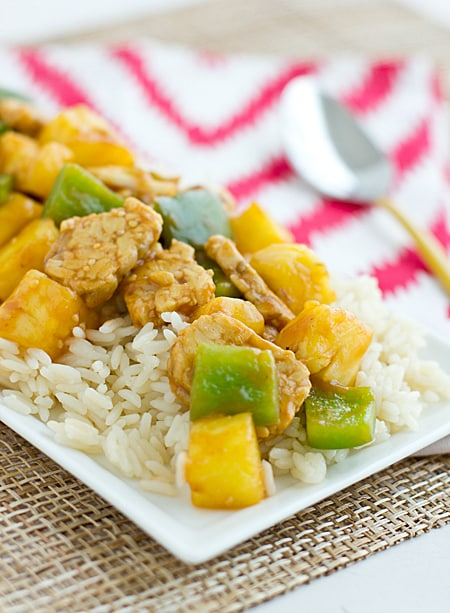 Sweet-and-Sour Tempeh