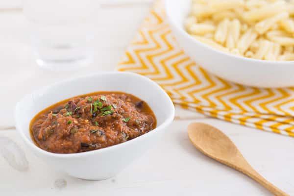 Vegetarian Puttanesca Sauce
