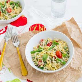 Summer Orzo Salad Recipe