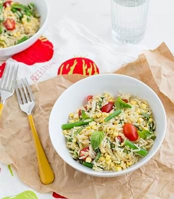 Summer Orzo Salad Recipe