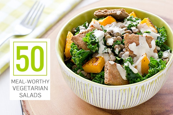 50 Meal-Worthy Vegetarian Salads