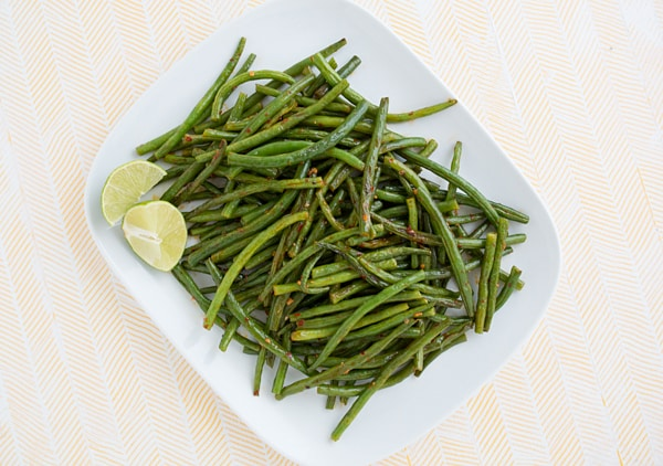 Chili Garlic Green Beans Recipe