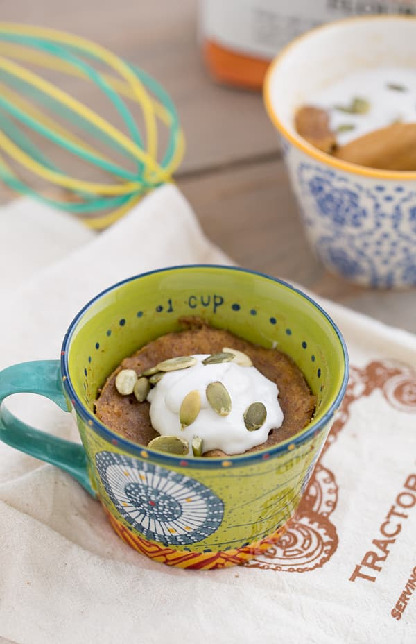 Sweet Potato Mug Cake from Mug Cakes by Leslie Bilderback