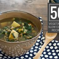 50 Vegetarian Slow Cooker Recipes