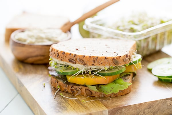 Basil White Bean Sandwich Spread Recipe