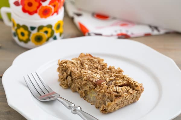 Spiced Pear Baked Oatmeal Recipe