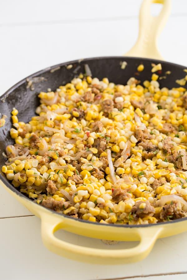 Sweet Corn & Sausage