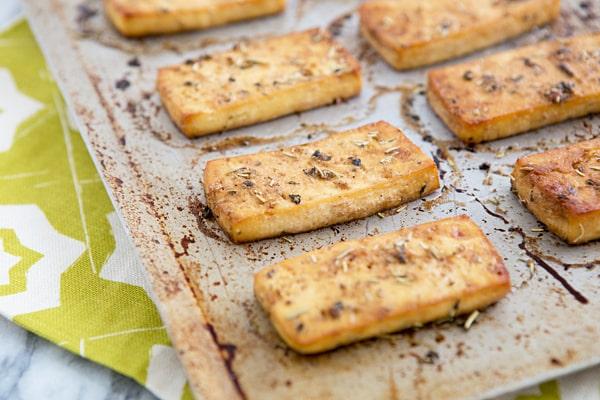 Baked Italian Herb Tofu Recipe