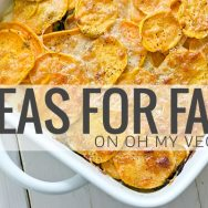 Ideas for Fall on Oh My Veggies