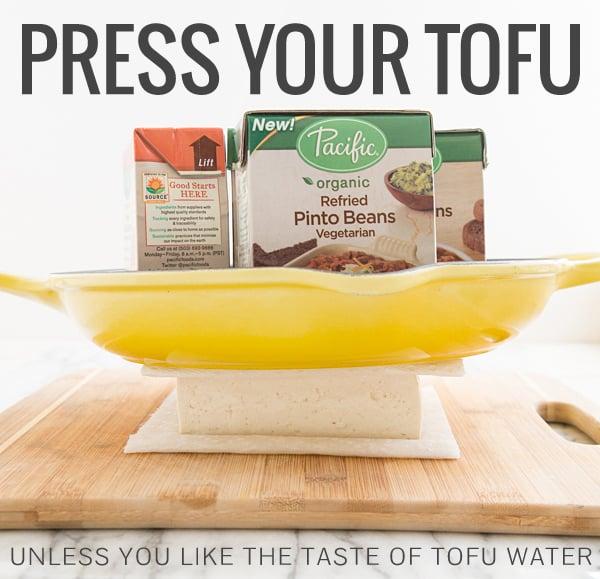 How to Press Tofu Like a Champ