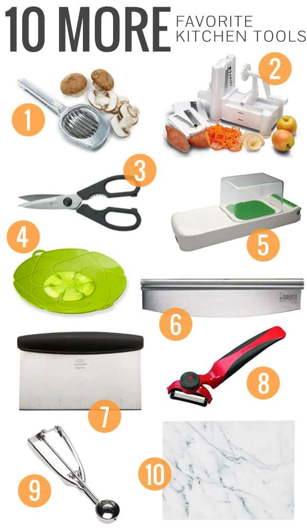 10 More Favorite Kitchen Tools