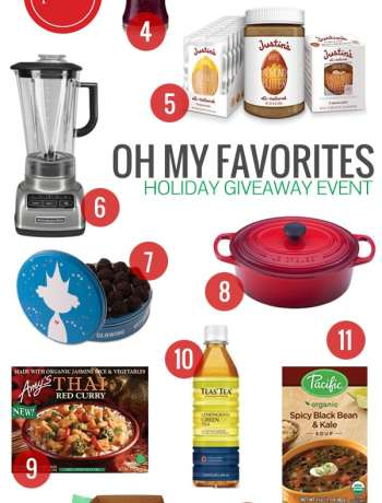 Oh My Favorites Holiday Giveaway Event