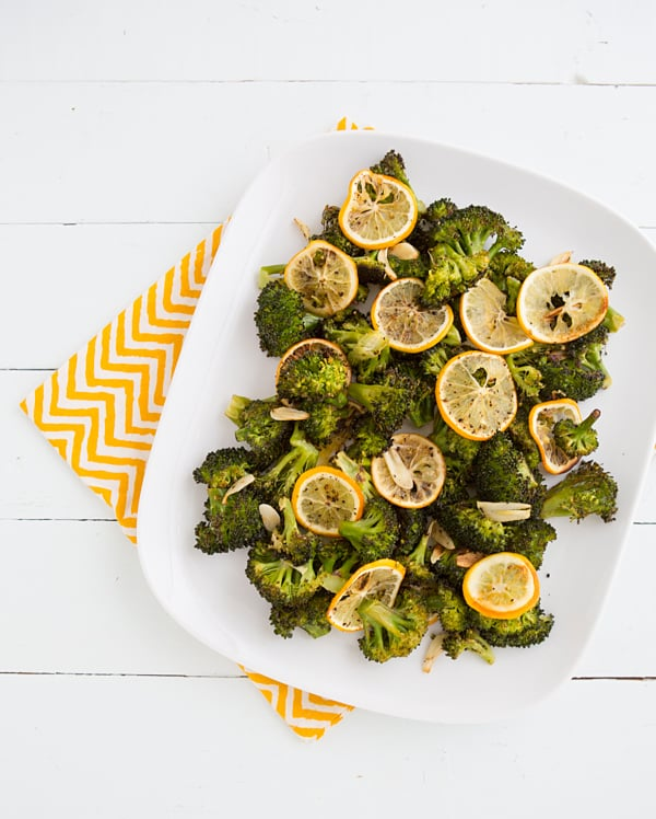 Roasted Broccoli with Meyer Lemon & Garlic
