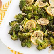 Roasted Broccoli with Meyer Lemon and Garlic Recipe