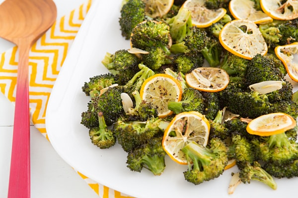 Roasted Broccoli with Meyer Lemon and Garlic Recipe