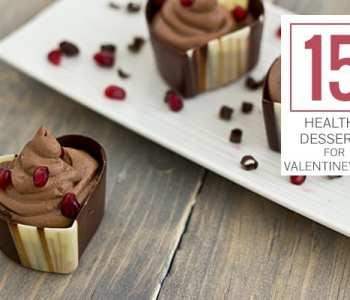 15 Healthy Desserts for Valentine's Day