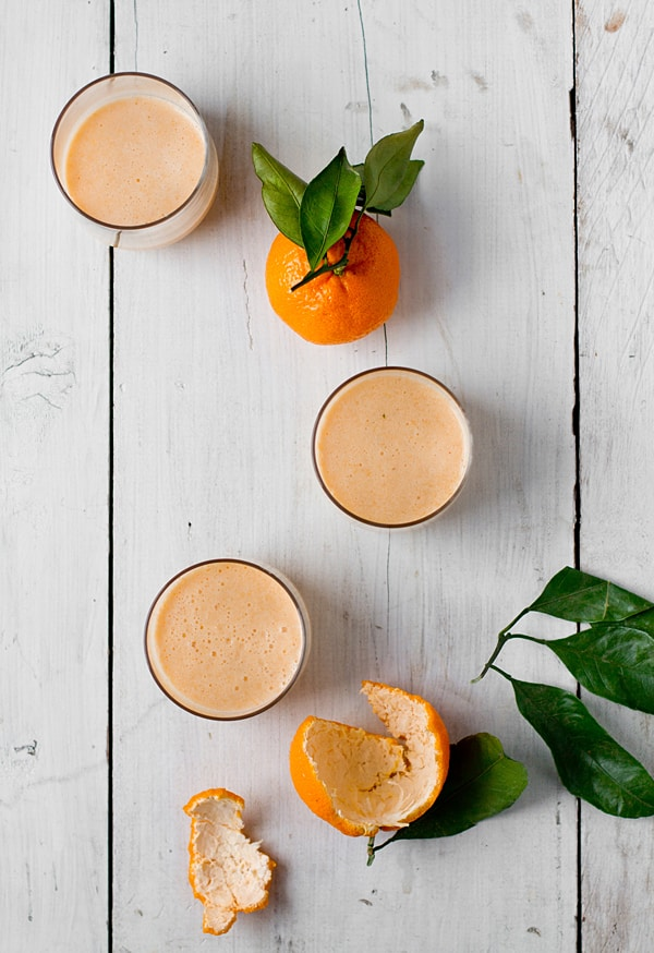 Spicy Mango Mandarin Smoothie