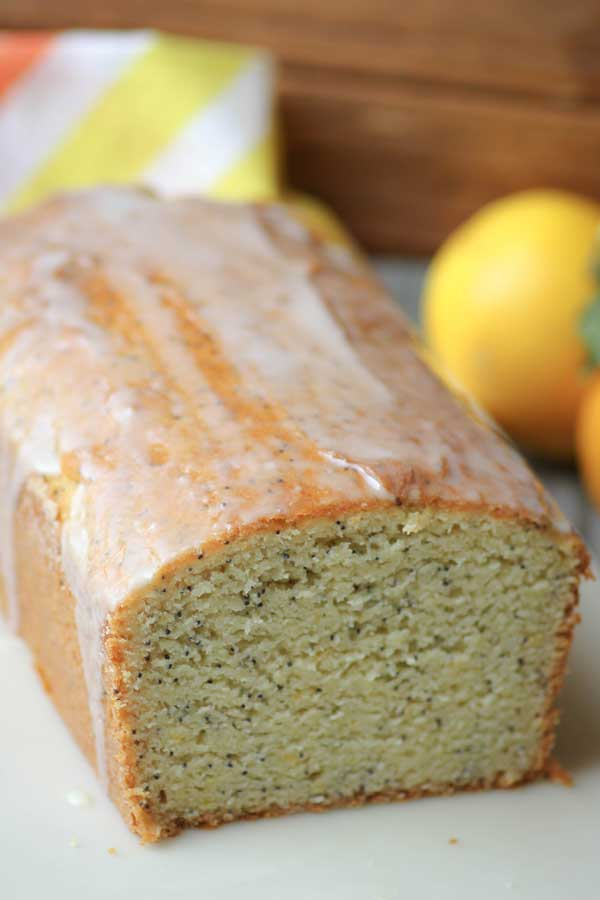 Gluten-Free Meyer Lemon Poppy Seed Bread Recipe