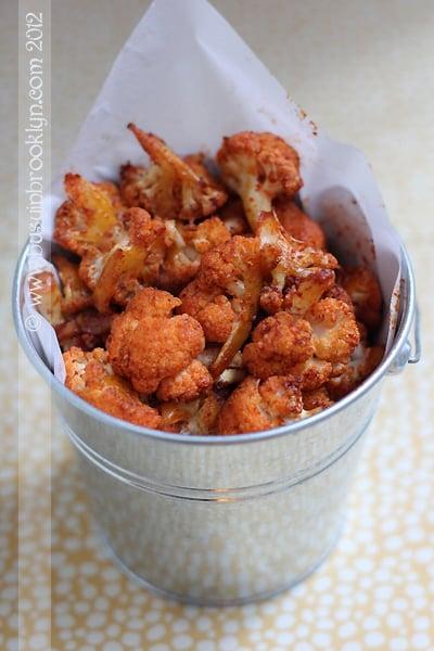 Smoked Paprika Popcorn Cauliflower