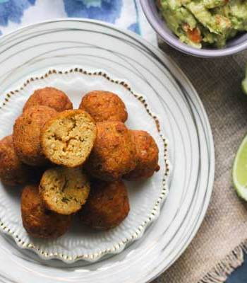 Sweet Potato & Millet Falafel