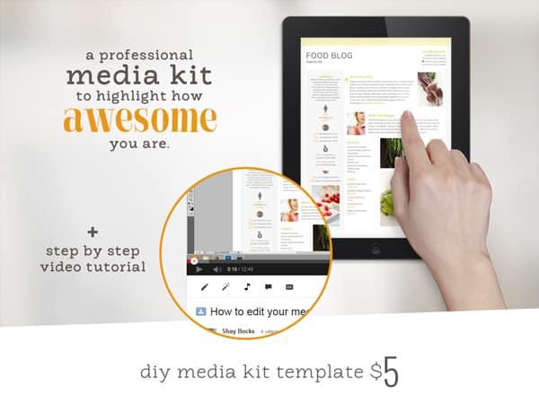 DIY Media Kit Template
