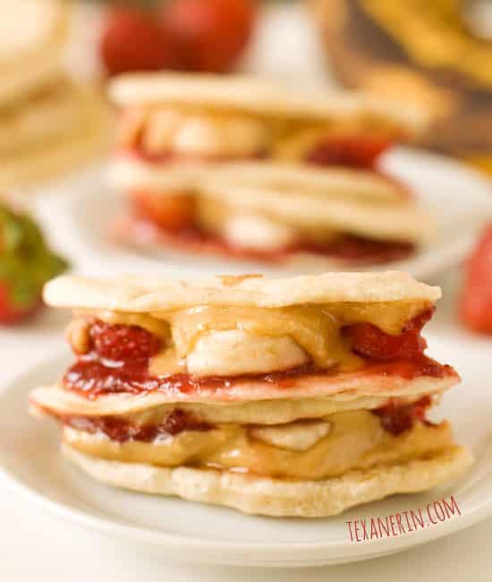 Strawberry Banana Quesadillas