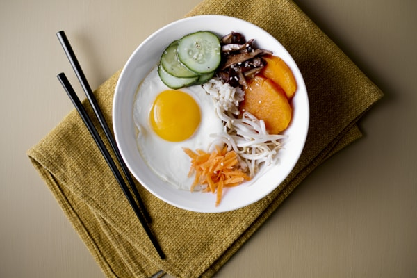 Sweet Potato Bibimbap Recipe