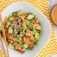 Thai Peanut Empowered Noodle Bowl Recipe
