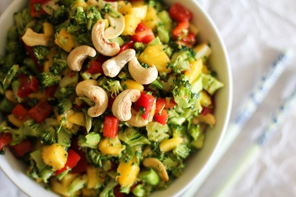 Thai Broccoli Salad
