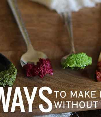 4 Ways to Make Pesto Without Basil
