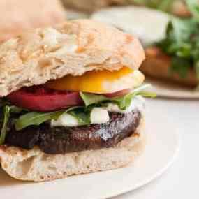 Cabernet Portabella Burger Recipe