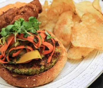 Thai Veggie Burgers