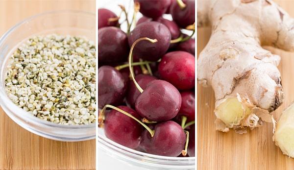 Hemp, Cherries & Ginger