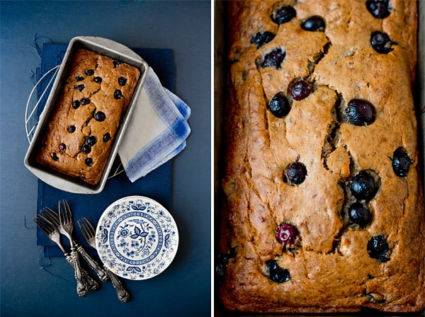 Vegan Blueberry Banana Bread