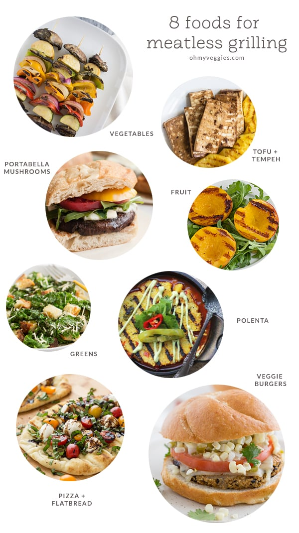 8 Foods for Meatless Grilling