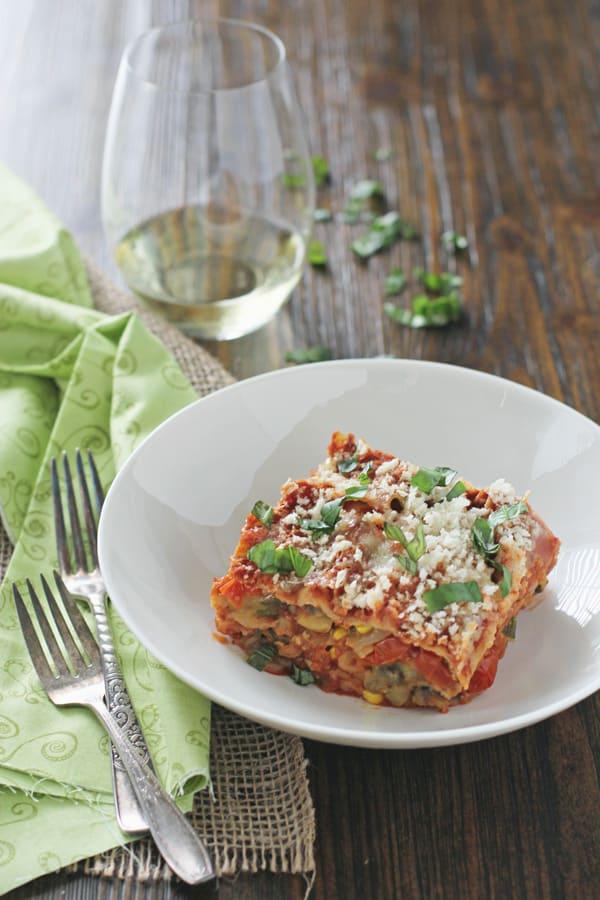 Slow Cooker Summer Lasagna