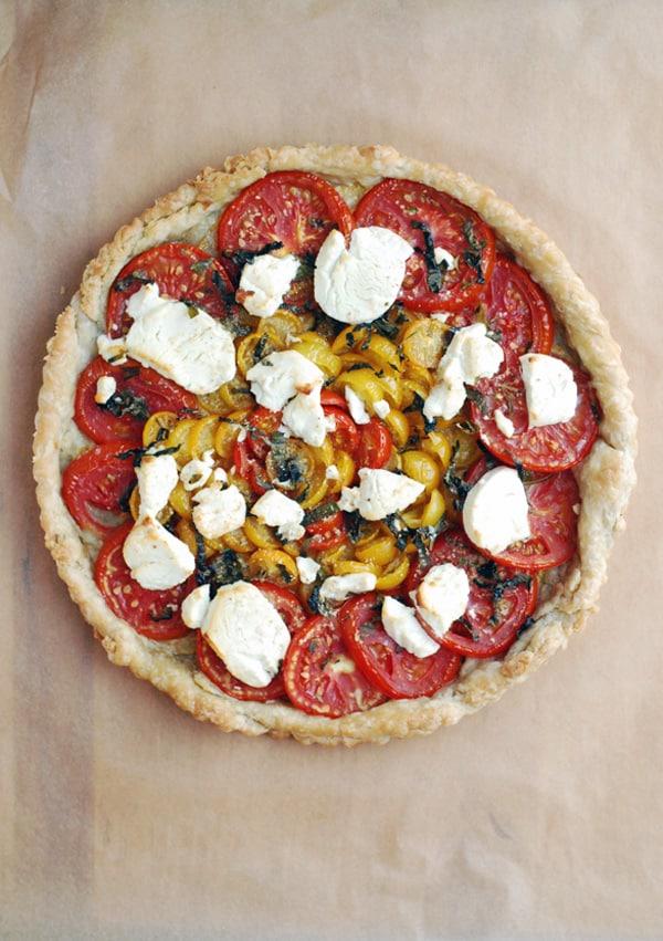 Tomato Chèvre Tart