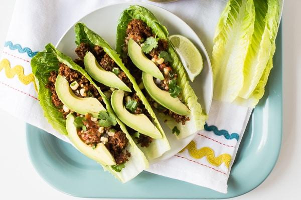 Heat-Free Lentil Walnut Tacos