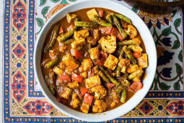 Tofu Vindaloo