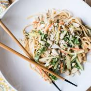 Sweet and Spicy Cold Peanut Noodles
