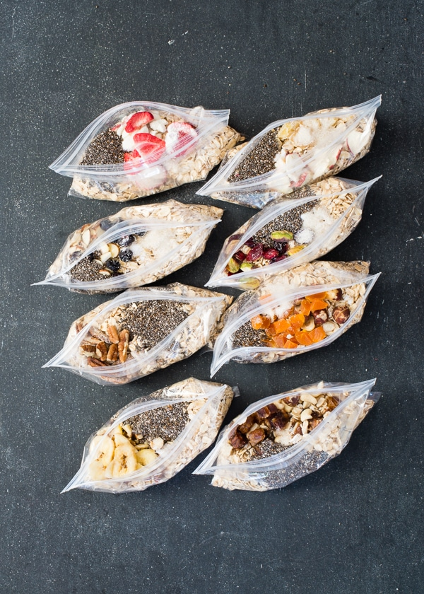 DIY Instant Oatmeal Packets