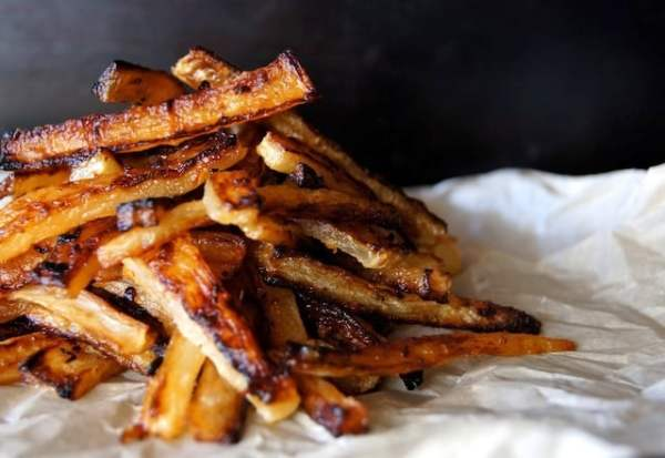 Roasted Daikon French Fries