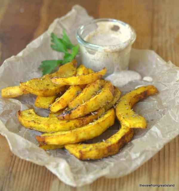 Oven-Baked Pumpkin Chipotle Fries