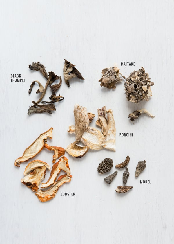Common Types of Dried Mushrooms