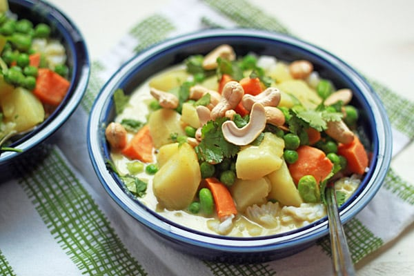 Sweet Potato Green Curry from Orchard Street Kitchen